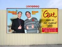 Wahlkampagne Simon & Stephan, Bild 6